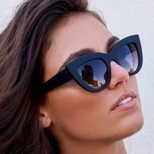 {ALLIE} trendy cat eye vintage sunglasses